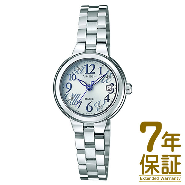 【正規品】CASIO カシオ 腕時計 SHE-4506SBD-7AJF レディース SHEEN シーン Star Index Series スワロフスキークリスタル