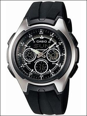【正規品】CASIO カシオ 腕時計 AQ-163W-1B1JF メンズ スタンダード STANDARD