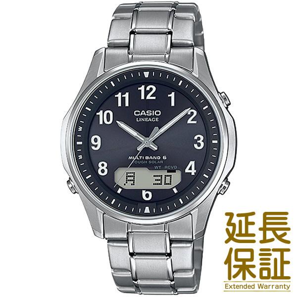 【国内正規品】CASIO カシオ 腕時計 LCW-M100TSE-1A2JF メンズ LINEAGE リニエージ 電波時計 タフソーラー