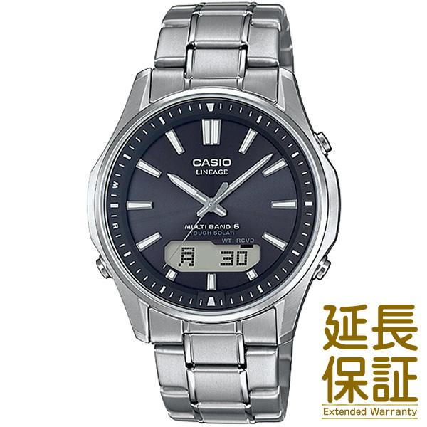 【国内正規品】CASIO カシオ 腕時計 LCW-M100TSE-1AJF メンズ LINEAGE リニエージ 電波時計 タフソーラー