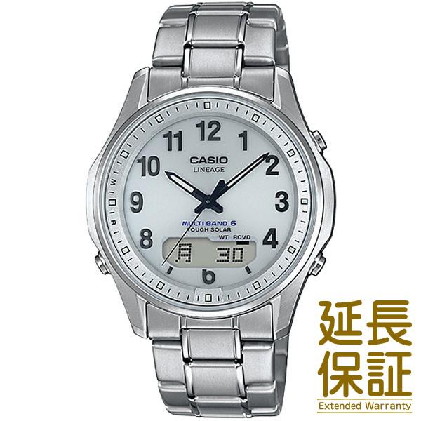 【国内正規品】CASIO カシオ 腕時計 LCW-M100TSE-7AJF メンズ LINEAGE リニエージ タフソーラー