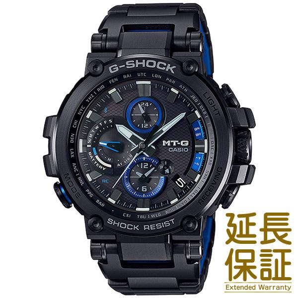 【正規品】CASIO カシオ 腕時計 MTG-B1000BD-1AJF メンズ G-SHOCK Gショック Bluetooth 電波時計 クロノグラフ タフソーラー