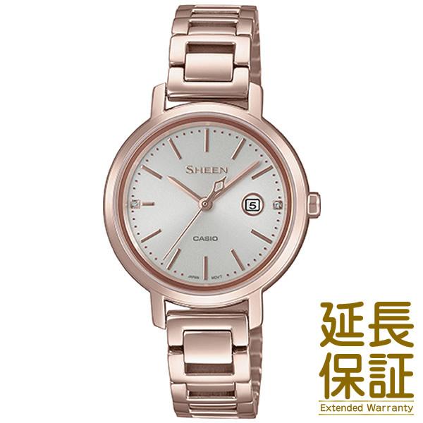【2018.10月発売】【予約受付中】【正規品】CASIO カシオ 腕時計 SHS-4525CG-4AJF レディース SHEEN シーン スワロフスキークリスタル ソーラー