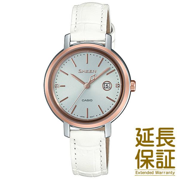 【正規品】CASIO カシオ 腕時計 SHS-4525PGL-7AJF レディース SHEEN シーン スワロフスキークリスタル ソーラー