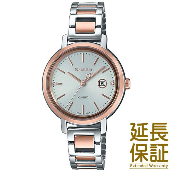 【正規品】CASIO カシオ 腕時計 SHS-4525SPG-7AJF レディース SHEEN シーン スワロフスキークリスタル ソーラー