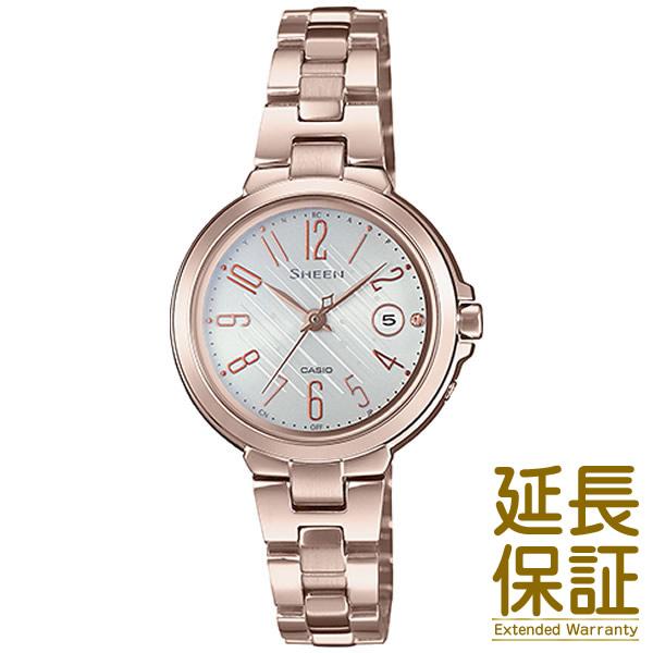 【2018.10月発売】【予約受付中】【正規品】CASIO カシオ 腕時計 SHW-5100CG-7AJF レディース SHEEN シーン 電波時計 スワロフスキークリスタル タフソーラー