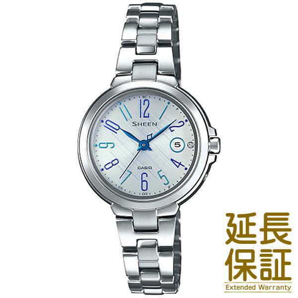 【2018.10月発売】【予約受付中】【正規品】CASIO カシオ 腕時計 SHW-5100D-7AJF レディース SHEEN シーン 電波時計 スワロフスキークリスタル タフソーラー