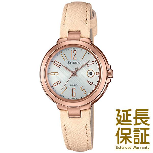 【正規品】CASIO カシオ 腕時計 SHW-5100PGL-7AJF レディース SHEEN シーン 電波時計 スワロフスキークリスタル タフソーラー
