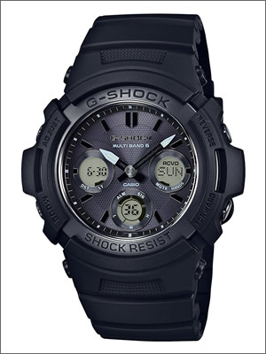 【レビュー記入確認後10年保証】カシオ 腕時計 CASIO 時計 正規品 AWG-M100SBB-1AJF メンズ G-SHOCK ジーショック 電波 ソーラー ブラック