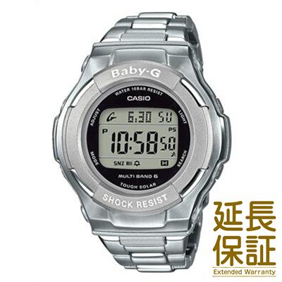【正規品】CASIO カシオ 腕時計 BGD-1300D-7JF レディース BABY-G ベビージー メタルバンド シルバー ソーラー 電波