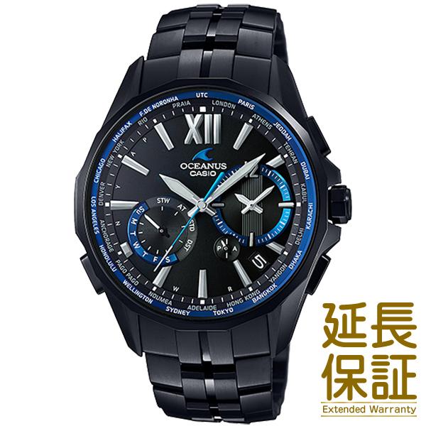 【正規品】CASIO カシオ 腕時計 OCW-S3400B-1AJF メンズ OCEANUS オシアナス タフソーラー 電波時計
