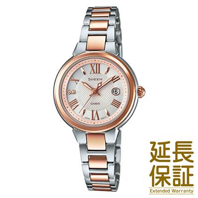 【正規品】CASIO カシオ 腕時計 SHE-4516SBZ-9AJF レディース SHEEN シーン ソーラー