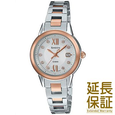 【正規品】CASIO カシオ 腕時計 SHS-4500SG-7AJF レディース SHEEN シーン スワロフスキー