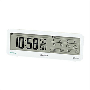 【正規品】CASIO カシオ クロック DWS-200J-7JF 置き時計 電波時計