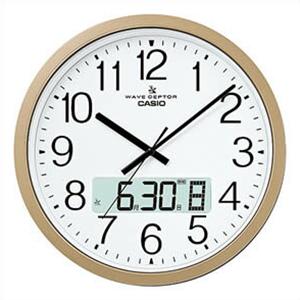 【正規品】CASIO カシオ クロック IC-4100J-9JF 掛け時計 電波時計 wave ceptor ウェーブセプター