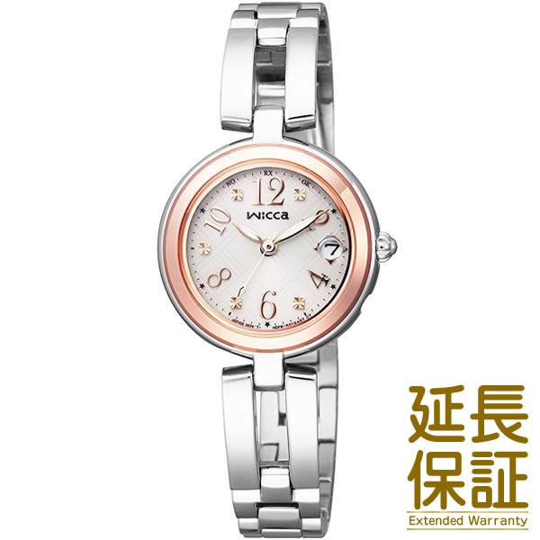 【国内正規品】CITIZEN シチズン 腕時計 KL0-219-11 wicca ウィッカ ソーラー 電波