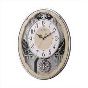 【正規品】リズム時計 クロック CITIZEN シチズン 4MN538RH23 掛時計 電波時計 スモールワールドクラッセ