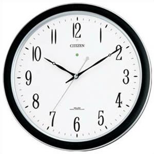 【正規品】リズム時計 クロック CITIZEN シチズン 4MY691-N19 掛時計 電波時計 ネムリーナM691F