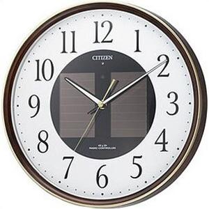 【正規品】リズム時計 クロック CITIZEN シチズン 4MY807-023 掛時計 エコライフM807