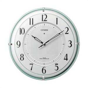 RHYTHM リズム時計 クロック 4MY851-005 掛時計 ソーラー