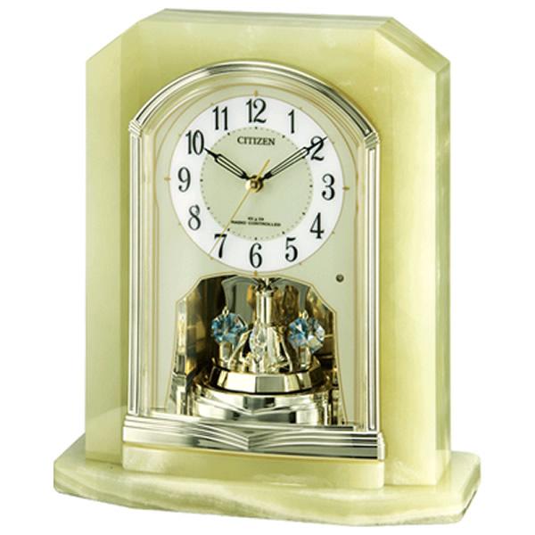 【正規品】リズム時計 クロック CITIZEN シチズン 4RY691-005 置き時計 電波時計 パルラフィーネR691