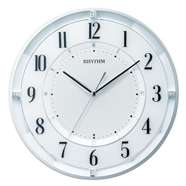 【正規品】RHYTHM リズム時計 クロック CITIZEN シチズン 8MY551SR03 電波掛時計 フィットウェーブクールM551