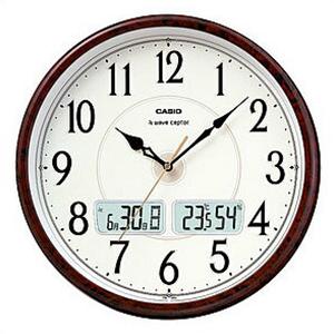 【正規品】CASIO カシオ クロック ITM-200J-5BJF 掛け時計