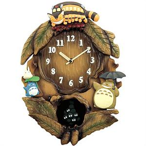 RHYTHM リズム時計 クロック 4MJ837MN06 振子付 掛時計 トトロM837N