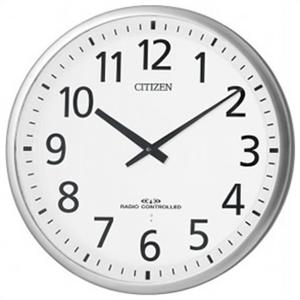 【正規品】リズム時計 クロック CITIZEN シチズン 4MY821-019 掛時計 電波時計 スリーウェイブM821