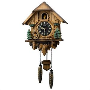 【正規品】リズム時計 クロック CITIZEN シチズン 4MJ423SR06 掛時計 鳩時計 カッコーティンバー