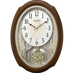 【正規品】リズム時計 クロック CITIZEN シチズン 4MN541RH06 掛時計 スモールワールドセレブレ