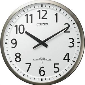 【正規品】リズム時計 クロック CITIZEN シチズン 4MY839-019 掛時計 電波時計 スリーウェイブM839