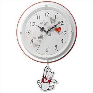 【正規品】リズム時計 クロック CITIZEN シチズン 8MX407MC03 掛時計 フリコトケイ/クマノプーサン