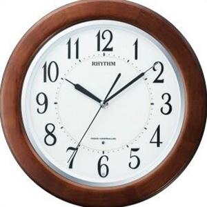 【正規品】リズム時計 クロック CITIZEN シチズン 8MY461SR06 掛時計 電波時計 リバライトF461SR