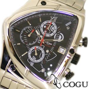 COGU コグ 腕時計 C43M-BK メンズ クロノグラフ