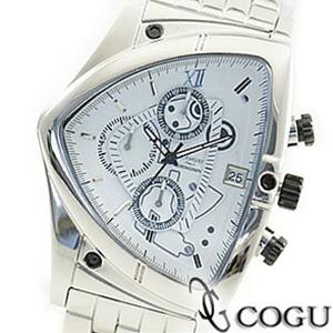 COGU コグ 腕時計 C43M-WH メンズ クロノグラフ