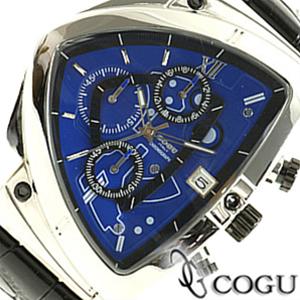COGU コグ 腕時計 C43-BL メンズ クロノグラフ