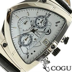 COGU コグ 腕時計 C43-WH メンズ クロノグラフ