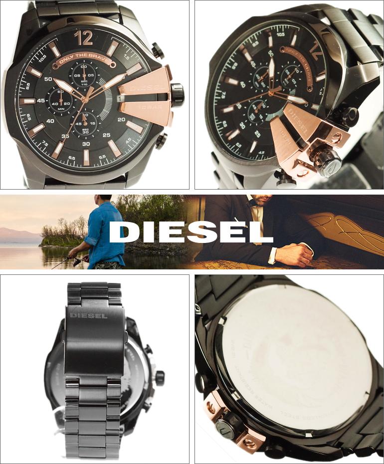 【並行輸入品】ディーゼル DIESEL 腕時計 DZ4309 メンズ Mega Chief メガチーフ