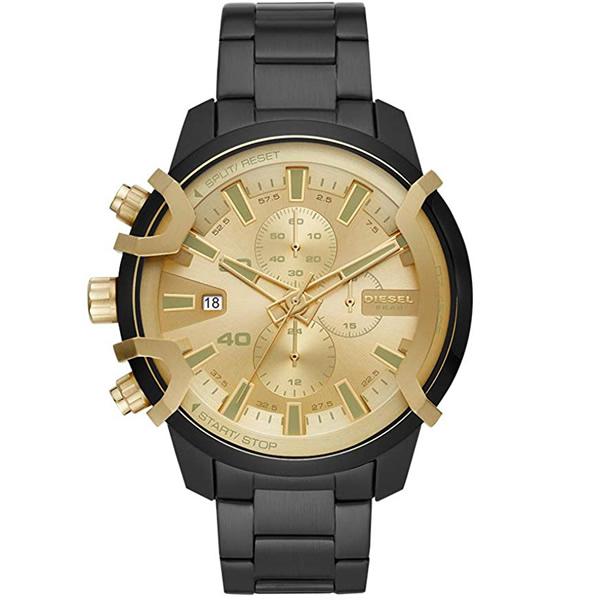 【並行輸入品】DIESEL ディーゼル 腕時計 DZ4525 メンズ GRIFFED グリフィード クロノグラフ クオーツ