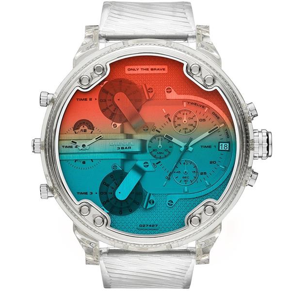 【1/8前後入荷予定】【並行輸入品】DIESEL ディーゼル 腕時計 DZ7427 メンズ MR Daddy 2.0 ミスター ダディ クオーツ