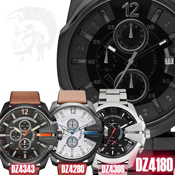 ディーゼル 腕時計 DIESEL 時計 並行輸入品 DZ4180 DZ4280 DZ4308 DZ4343 メンズ Master Chief マスターチーフ