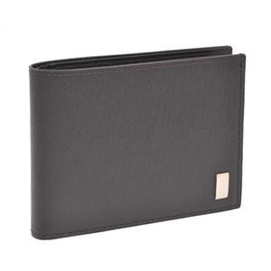 dunhill ダンヒル 60サイズ FP3070E-BLK 二つ折り財布