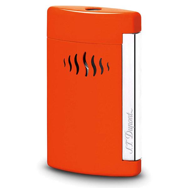 S.T.Dupont エステーデュポン 喫煙具 010509 ターボライターMINIJET ミニジェット コーラルオレンジ