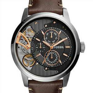 【並行輸入品】FOSSIL フォッシル 腕時計 ME1163 メンズ Townsman タウンズマン 自動巻き