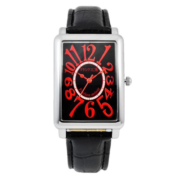 【正規品】フランク三浦 FRANK三浦 腕時計 FM01K-RD ユニセックス 初号機(改) シルバーレッド クオーツ