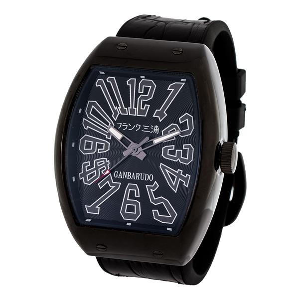 【国内正規品】FRANK三浦 フランク三浦 腕時計 FM11K-BB メンズ 十一号機 ガンバルド クオーツ