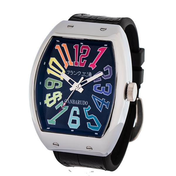 【国内正規品】FRANK三浦 フランク三浦 腕時計 FM11K-CRB メンズ 十一号機 ガンバルド クオーツ