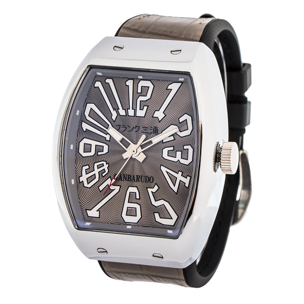 【国内正規品】FRANK三浦 フランク三浦 腕時計 FM11K-G メンズ 十一号機 ガンバルド クオーツ