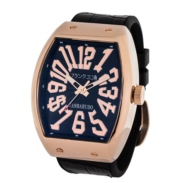 【国内正規品】FRANK三浦 フランク三浦 腕時計 FM11K-RGB メンズ 十一号機 ガンバルド クオーツ